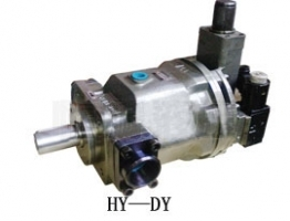 Piston pump water-cooled oil cooler Caution